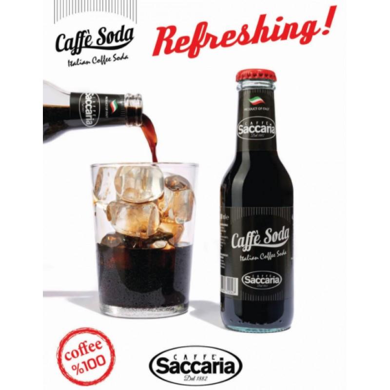 Saccaria - 2枝 意大利直送 有氣咖啡 200毫升
