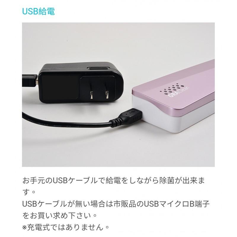 日本EIKO USB UV-C紫外線消毒牙刷盒