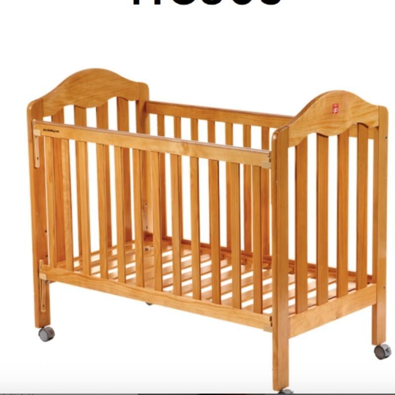 goodboy好孩子嬰兒床帶床墊95新