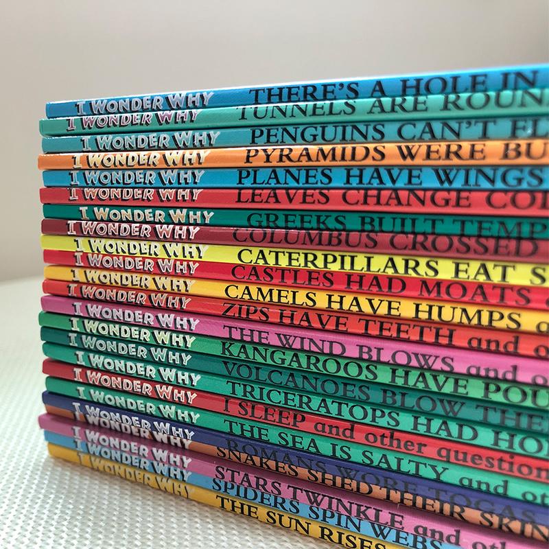 《I wonder why》十萬個為什麼 英文版 一1套24本