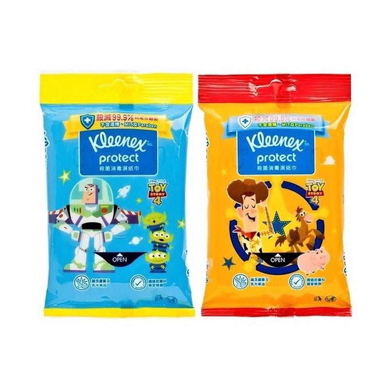 Kleenex 殺菌消毒濕紙巾[殺滅99.9%病毒及細菌]