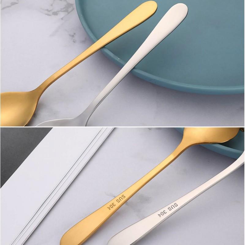 骷髏頭糖勺 不銹鋼PVD鍍鈦