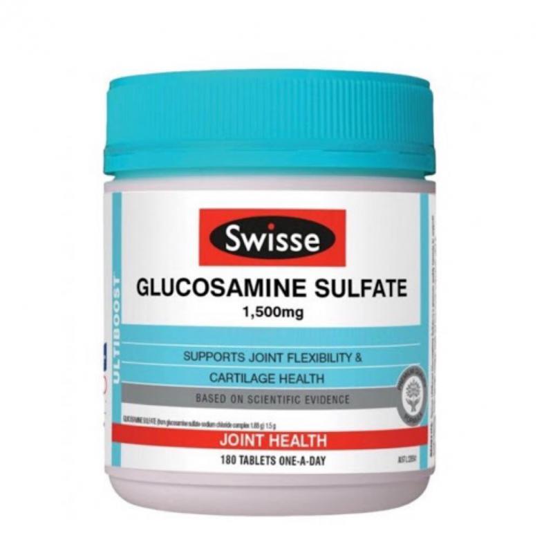 Swisse 葡萄糖胺維骨力 1500mg 180粒