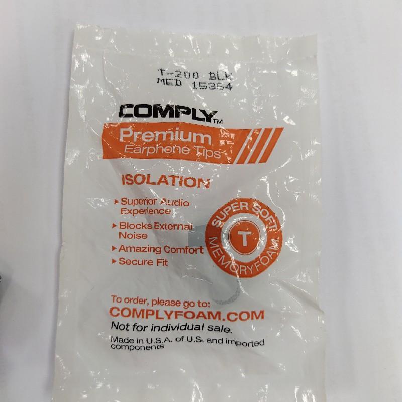 Comply T-200 premium earphone tips